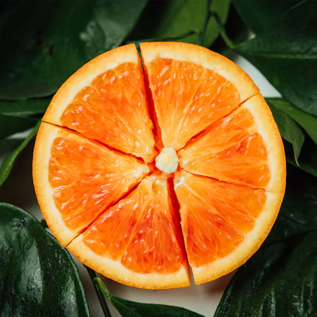 pomarańcze zabieg